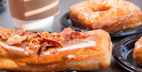 Your Life Won't Be Complete Until You Have a Maple Bacon Doughnut (and Unscramble This Puzzle)