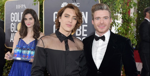 Fiji Water Girl Ruins Just About Every Shot at the Golden Globes