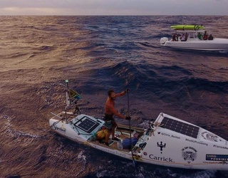 This Man Just Paddleboarded All the Way Across the Atlantic Ocean