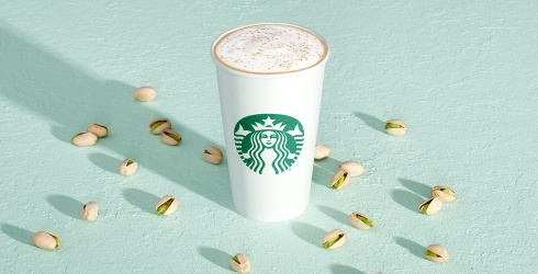 Unscramble This Puzzle of Starbucks' New Nutty, Buttery Pistachio Latte