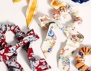 Brig's Buys: Fun Hair Ties to Help Bring Your Messy WFH Bun From Drab to Fab