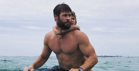 We Don't Spend Enough Time Talking About How Cute Chris Hemsworth Is With His Kids
