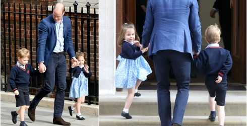 Princess Charlotte Steals Her Newborn Brother's Spotlight, Regrets Nothing