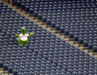 These MLB Mascots Had the Ballparks to Themselves, for Better or Worse