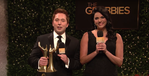 """""""SNL"""" Made the Perfect Oscars Parody in Light of This Year's Sexual Misconduct Allegations"""