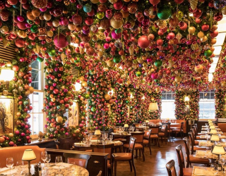 London Restaurant 34 Mayfair Is the Ultimate Christmas Eye Candy