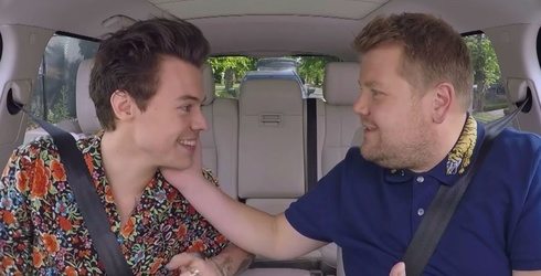 Harry Styles and James Corden Sing Some Lionel Richie on Carpool Karaoke