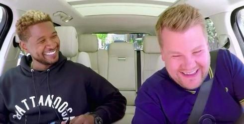 "We've Got It Bad for Usher's ""Carpool Karaoke"" With James Corden"