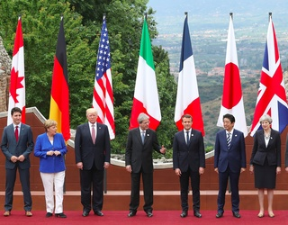 Photos of the Week: The G7 Summit and Bono