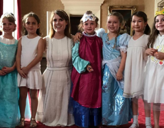 Harper Beckham Had a Birthday Party at Buckingham Palace Because That's What 6-Year-Olds Do Now