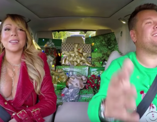 """James Corden, Mariah Carey  and More Belt Out """"All I Want For Christmas"""" on Carpool Karaoke"""