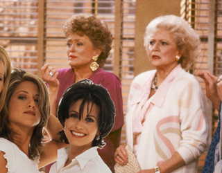 """What If """"Friends"""" Was Rebooted Like """"The Golden Girls""""? Jennifer Aniston Thinks It's Possible"""