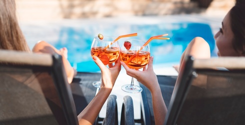 Opt for One of These Fun Cups Instead of a Wine Glass at Your Next Pool Party