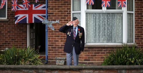 All the Brilliant Ways the U.K. Helps Us Remember VE Day's 75th Anniversary