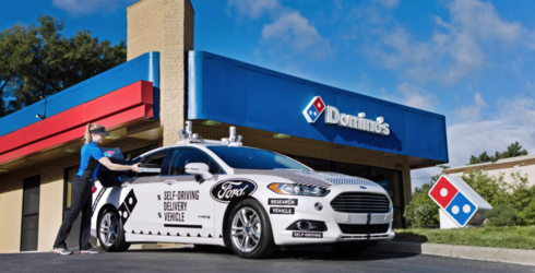 Domino's and Ford to Test Self-Driving Pizza Delivery Cars