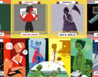 Google Doodle Celebrates International Women's Day 2017