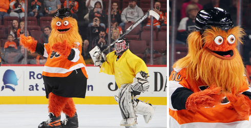 """The Week in Tweets, Starring Gritty the """"Labyrinth"""" Reject/NHL Mascot With Googly Eyes"""