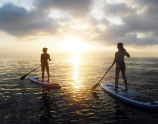 Greet the Morning With This Paddleboarding Puzzle