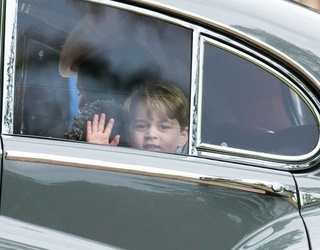 Prince George, Future Supreme Governor of the Church of England, Played a Sheep in His School's Nativity Play