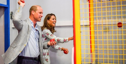 Prince William Meets Joan, the Woman Who Hates His Bingo-Calling Skills