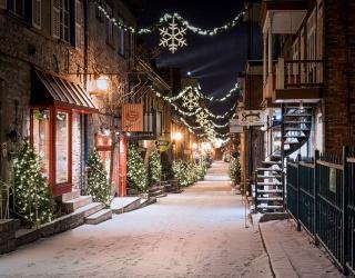Weekend Wanderlust: Spend Next Christmas in Old Quebec City