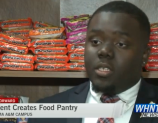 Alabama College Student Starts Food Pantry in Dorm  for Hungry Classmates