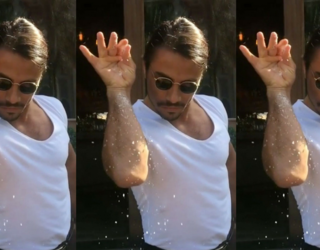 Salt Bae's New Manhattan Restaurant Is Leaving Customers Unsatisfied (and Craving a Snack)