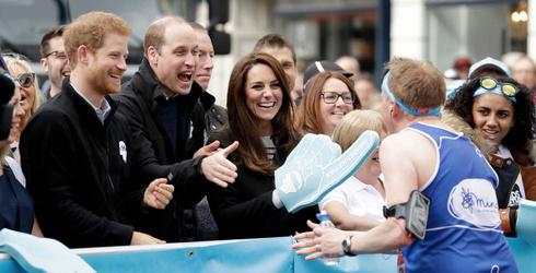 Prince William Was Deffo the 2017 London Marathon's Biggest Superfan