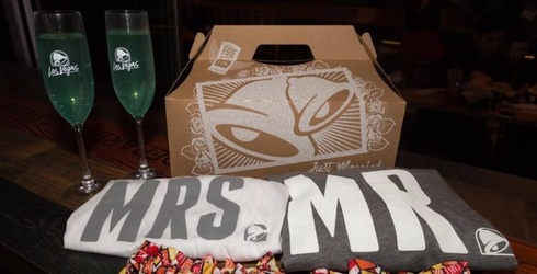 Taco Bell Is Hosting Weddings Now So You Can Live Más on Your Big Day