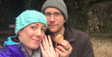 One Clever Man Hid a Wedding Ring in His Girlfriend's Necklace for over a Year Before Popping the Question