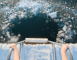 The Watt Brothers Took an Ice Bath in a Literal Frozen Lake Because...They Could?