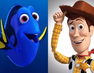 """Watch as Dory and Woody Meet in a Hilarious """"Pixar-Off"""""""