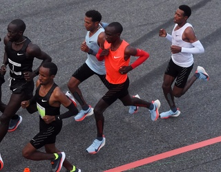 Nike's Eliud Kipchoge Almost Ran a Marathon in Under 2 Hours but Some People Aren't Celebrating
