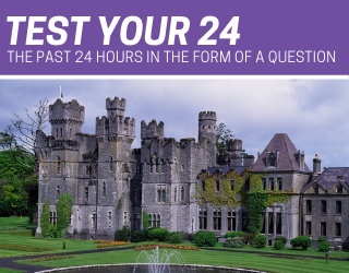 How Is This Couple Spending Their Time Quarantined in a Castle?