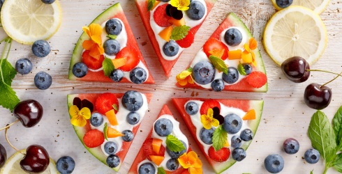 We'll Be Refreshed to Death Once This Watermelon Pizza Puzzle Is Solved