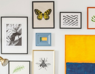 Fill the Walls in this Puzzle With Your Favorite Art Prints