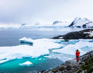 Weekend Wanderlust: Bundle up and Take on an Icy Glacier