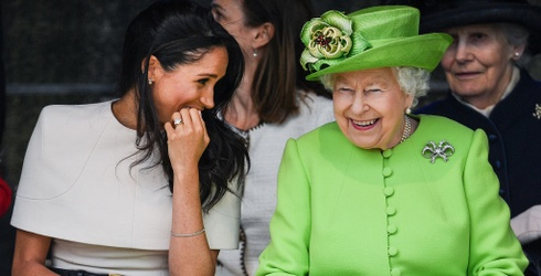 Meghan Markle Went A-Duchessin' with the Queen, and Methinks They Had Fun