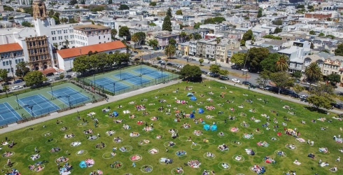 Is This Socially-Distant San Francisco Puzzle as Easy-Peasy as It Looks?