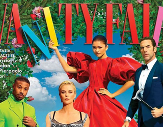 Vanity Fair's 2021 Hollywood Issue Is a Colorful, Serotonin-Boosting Spread