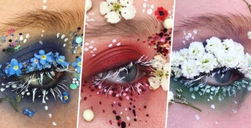 This UK-Based Makeup Artist Is Making 'Terrarium Eyes' a Thing