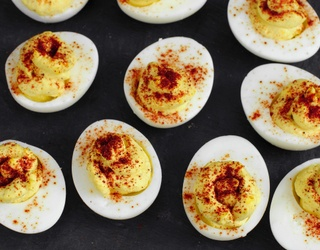 The Devil Works Hard, but You'll Work Harder on This Deviled Eggs Puzzle