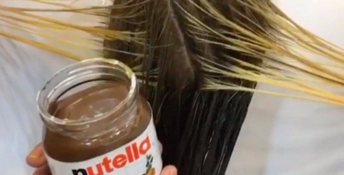 A Salon in Dubai Just Dyed Someone's Hair With Nutella