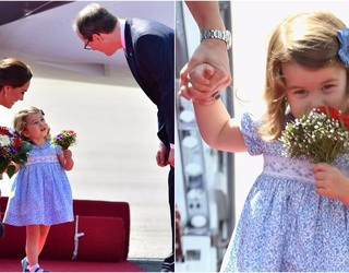 Princess Charlotte Recalls the Thrill of Accepting Her Very First Royal Bouquet