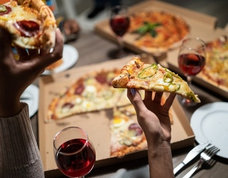Kick off Your Friday Night With a Pizza Party Memory Match