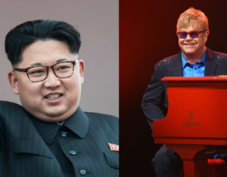 """Trump Called Kim Jong-un """"Rocket Man"""" and Now We All Have That Elton John Song Stuck in Our Heads"""