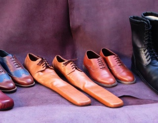 Send a Socially-Distant Message With This Shoemaker's Size 75 Loafers