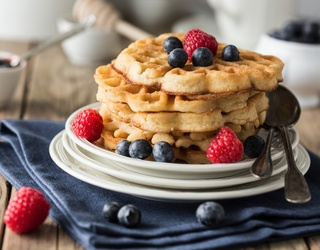We Love These Waffle Creations a Waffle Lot