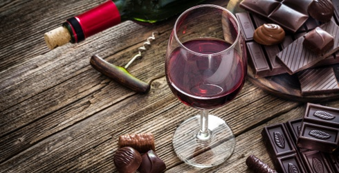How to Expertly Pair Wine With Chocolate, Because They're Our Real True Loves