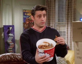 """Literally Just an Appreciation Post for How Much Joey on """"Friends"""" Loves Food"""
